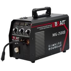 Полуавтоматический сварочный аппарат инверторного типа BRAIT MIG-250QD (250 А / 1.0 мм)
