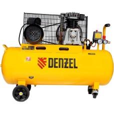 Компрессор воздушный DENZEL BCI2300/100 ременный (100 л / 2300 Вт / 400 л/м)