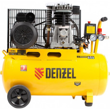 Компрессор воздушный DENZEL BCI2300/50 ременный (50 л / 2300 Вт / 400 л/м)