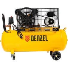 Компрессор воздушный DENZEL BCV2200/100 ременный (100 л / 2200 Вт / 370 л/м)