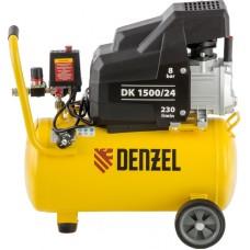 Компрессор воздушный DENZEL DK1500/24 X-PRO (24 л / 1500 Вт / 230 л/м)