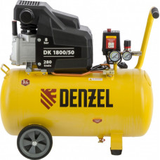 Компрессор воздушный DENZEL DK1800/50 X-PRO (50 л / 1800 Вт / 280 л/м)