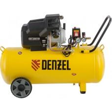 Компрессор воздушный DENZEL DKV2200/100 X-PRO (100 л / 2200 Вт / 400 л/м)
