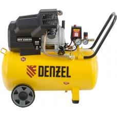 Компрессор DENZEL DKV2200/50 X-PRO воздушный (50 л / 2200 Вт / 400 л/м)