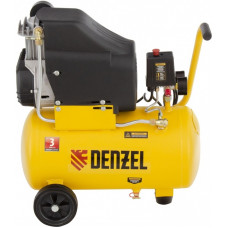 Компрессор воздушный безмасляный DENZEL DLC1300/24 (24 л / 1300 Вт / 206 л/м)