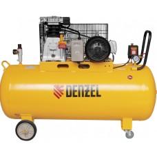 Компрессор DENZEL DR3000/200 масляный ременный (200 л / 3000 Вт / 520 л/м)