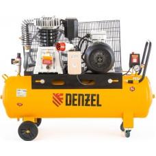 Компрессор DENZEL DR4000/100 масляный ременный (100 л / 4000 Вт / 690 л/м)