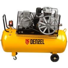 Компрессор DENZEL DR5500/200 масляный ременный (200 л / 5500 Вт / 850 л/м)