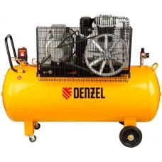 Компрессор DENZEL DR5500/300 масляный ременный (300 л / 5500 Вт / 850 л/м)