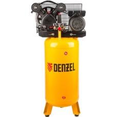 Компрессор DENZEL DRV2200/100V масляный ременный с вертикальным ресивером (100 л / 2200 Вт / 440 л/м)