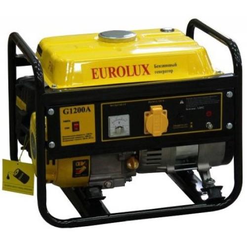 Электрогенератор Eurolux G1200A  (1.0 кВт / 1.1 кВт)