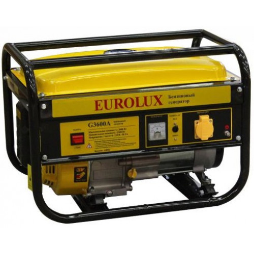 Электрогенератор Eurolux G3600A (2.5кВт / 2.8 кВт)