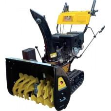 Бензиновый снегоуборщик Huter SGC-11000CD с электростартером от сети 220 В (15.0 л/с)