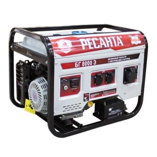 Электрогенератор РЕСАНТА БГ 9500 Э с электростартером (7.5 кВт /8.0 кВт)