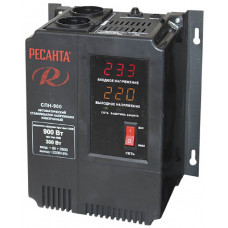 Стабилизатор напряжения Ресанта СПН-900 (0.9 кВт)