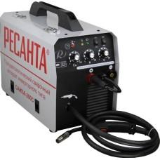 Полуавтоматический сварочный аппарат инверторного типа Ресанта САИПА-220С с функцией ММА (200 А / 1.0 мм)