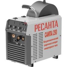 Полуавтоматический сварочный аппарат инверторного типа Ресанта САИПА-250 (MIG/MAG) (250 А / 1.2 мм)