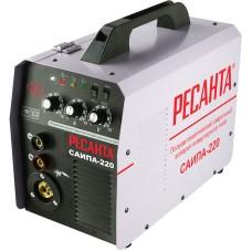 Полуавтоматический сварочный аппарат инверторного типа Ресанта САИПА-220 (220 А / 1.0 мм)