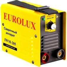 Сварочный аппарат инверторный Eurolux IWM-205 (205 А)