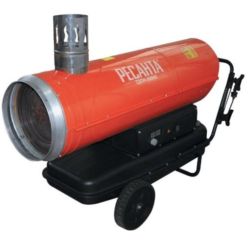 Тепловая дизельная пушка непрямого нагрева Ресанта ТДПН-50000 (50.0 кВт)