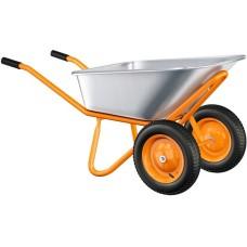 Тачка садово-строительная ВИХРЬ Т90-2 (90 кг/ 200 кг)