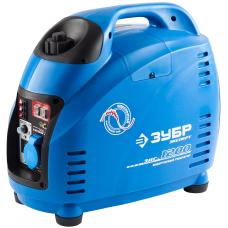 Инверторный электрогенератор ЗУБР ЗИГ-1200 (1.0 кВт / 1.2 кВт)